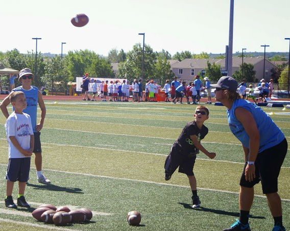 3552a8c3 Youth football camps by Ed McCaffrey in Colorado | youth football ...